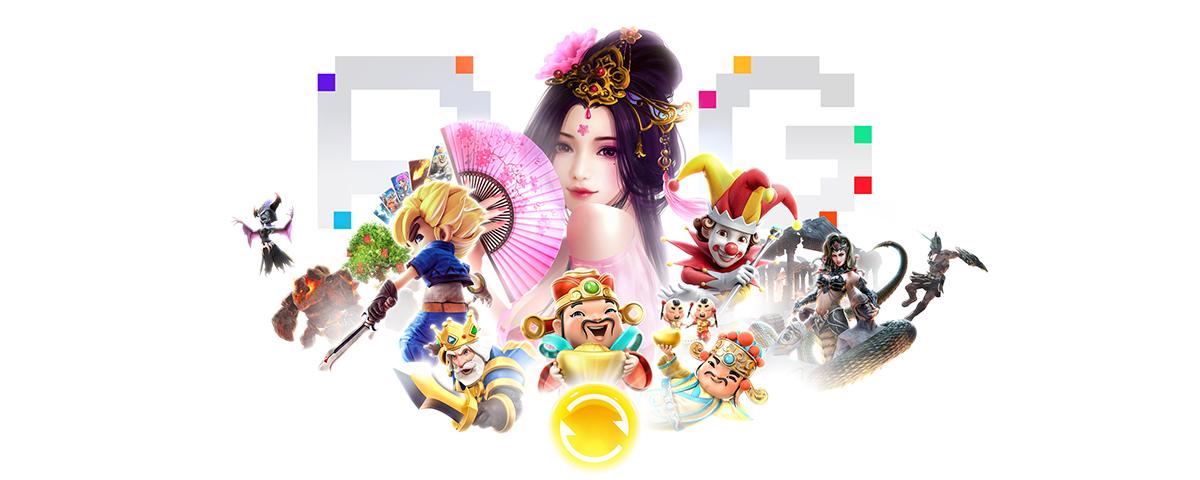 Permainan Perangkat Lunak Slot PG Soft Online